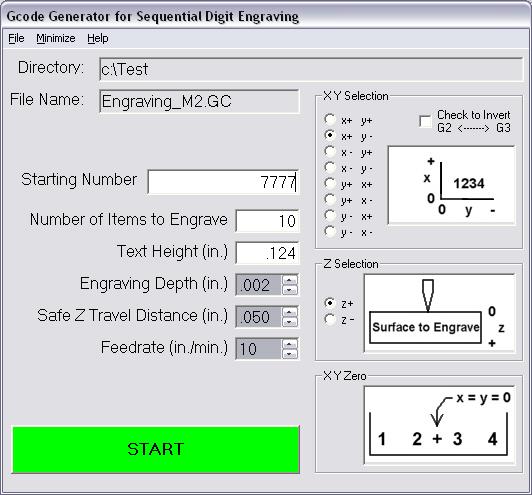 Software - Digit Engraving